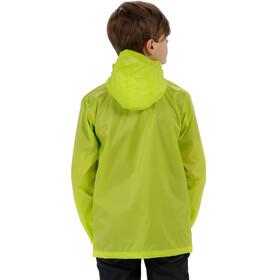 Regatta Pack It III Jacket Kids, lime zest
